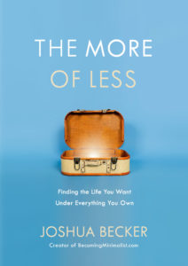 The More of Less book on minimalism